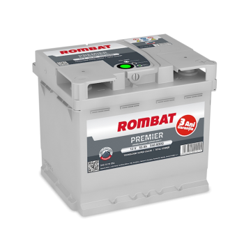 Baterie auto Rombat Premier 12 V - 55 Ah
