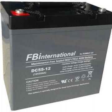 Baterie stationara Rombat DCG GEL 12 V - 35 Ah