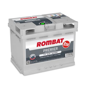 Baterie auto Rombat Premier 12 V - 65 Ah