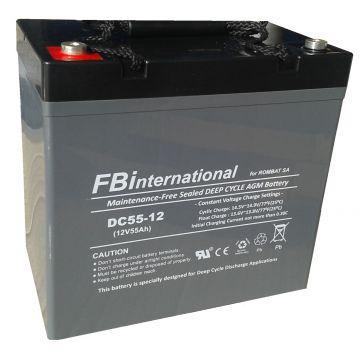 Baterie stationara Rombat DCG GEL 12 V - 40 Ah