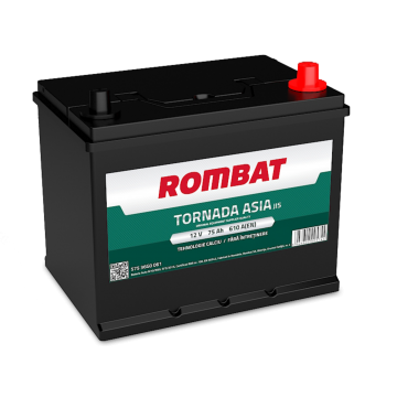 Baterie auto Rombat Tornada Asia 12 V - 75 Ah