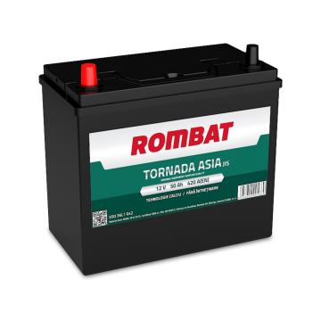 Baterie auto Rombat Tornada Asia 12 V - 50 Ah
