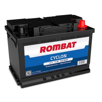Baterie auto Rombat Cyclon 12 V - 77 Ah