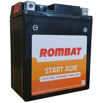 Baterie moto Rombat RBX5L-BS 12 V - 4 Ah