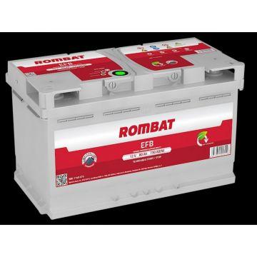 Baterie auto Rombat EFB 12 V - 80 Ah