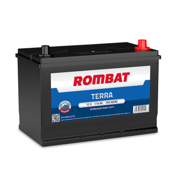 Baterie auto Rombat Terra 12V - 110 Ah