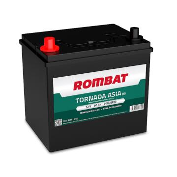 Baterie auto Rombat Tornada Asia 12 V - 60 Ah
