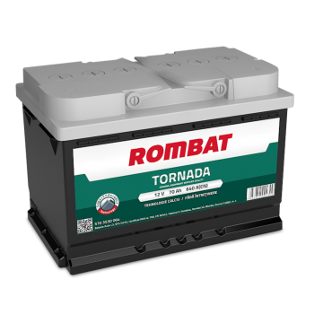 Baterie auto Rombat Tornada 12 V - 70 Ah