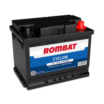 Baterie auto Rombat Cyclon 12 V - 62 Ah