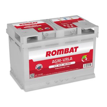 Baterie auto Rombat AGM 12V - 80 Ah